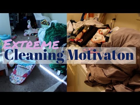 Extreme Cleaning Motivation With Kids / Real Mom Life Of 4 / Cleaning my House