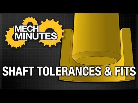 SHAFTS PT. 3: SHAFT TOLERANCES & FITS | MECH MINUTES | MISUMI USA