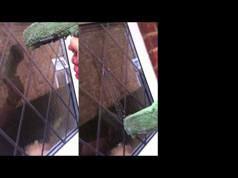 Cleaning Leaded Windows With A Glass Cloth