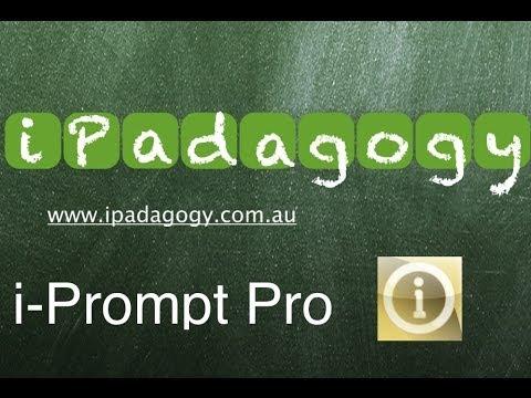 iPadagogy - App Review - iPrompt Pro Tutorial
