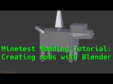 Minetest Modding Tutorial: Creating Mobs with Blender