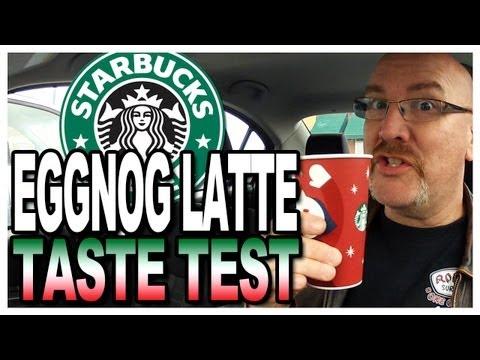 Starbucks Eggnog Latte Taste Test and Review