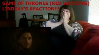 GAME OF THRONES (RED WEDDING) - LINDSAY