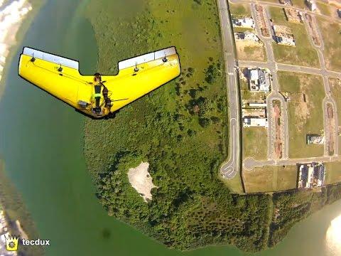 1200mm Delta Wing FPV using GoPro / 1,20m Zagi FPV com GoPro