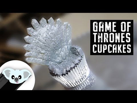 Game of Thrones:  Iron Throne Cupcake