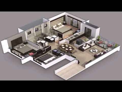 3 Bedroom 2 Bath House Plans Free