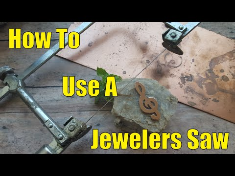 How To Use A Jewelers Saw the Right And Wrong Way.