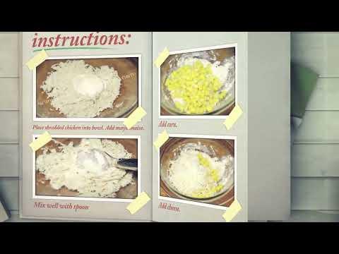 Chicken and Corn Salad - Healthy salad recipes