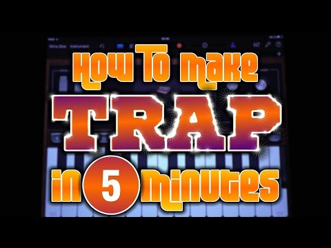 How To Make Trap in Garageband in 5 Minutes (iPad & iPhone)