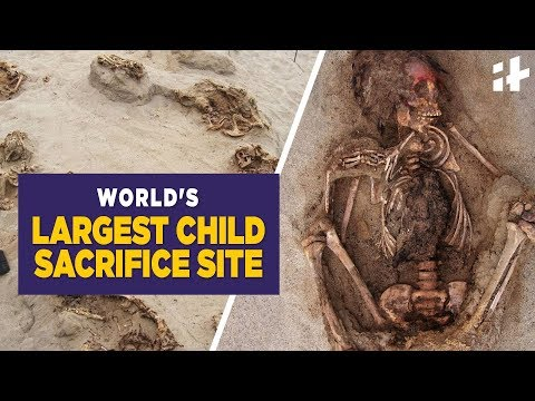 Indiatimes - World's Largest Child Sacrifice Site Found In Peru