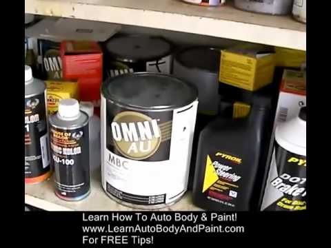 Auto Body Paint Suggestions