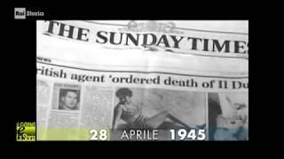 §.1/ (anniversari-morte 1945) ** 28 aprile ** Giulino di Mezzegra (Como): fucilazione duce Mussolini