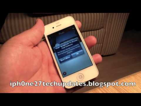 ContactPrivacy Tweak for Private Info Acces iPhone 4S iPhone 4