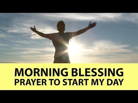Morning Blessing Prayer to Start my Day  ✅
