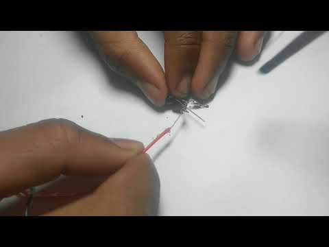 How to make voltage detector, AC detector non contact