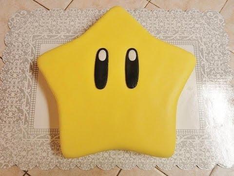 Mario Star Cake Tutorial