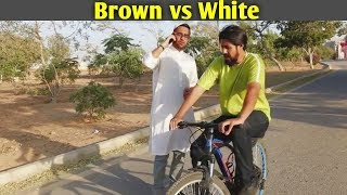 ZaidAliT & Bekaar Vines - Brown vs White - How Parents teach their Children cycling