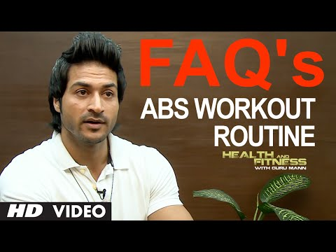 FAQ 4 - Abs Workout Routine: How many Days We Should Train Our Abs In A Week ? | Guru Mann