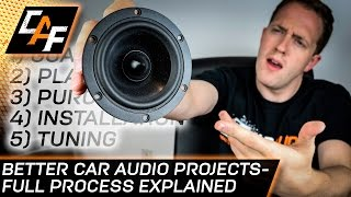 Build The Best Car Audio System Full Process Explained
