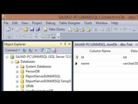 How to connect SQL server database with visual Studio C#