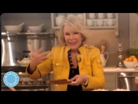 How to Make a Passover Matzo House with Joan Rivers- Martha Stewart