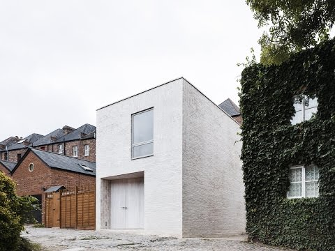 Small Brick House Idea from Garage Conversion