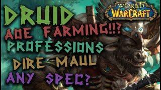 Vanilla WoW - Fusion Guild - Feral Druid - Dire Maul Gold Farm