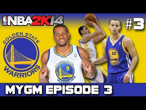 NBA 2K14 - MyGM MODE | GOLDEN STATE WARRIORS | TRADING FOR AN ELITE BIG MAN!