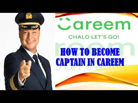 How to Become Captain in Careem