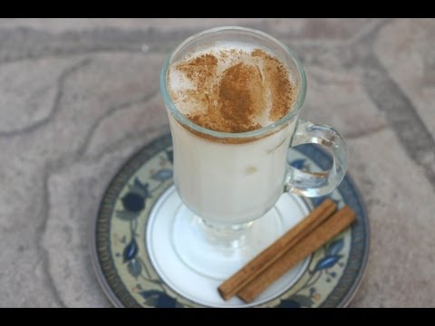 How To Make Horchata - A Refreshing Mexican Rice  Drink With  Cinnamon By Rockin Robin