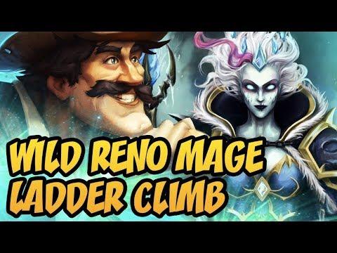 Hearthstone: Wild Reno Mage Ladder Climb