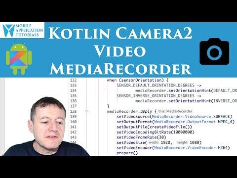 Kotlin camera2 API video setting up MediaRecorder