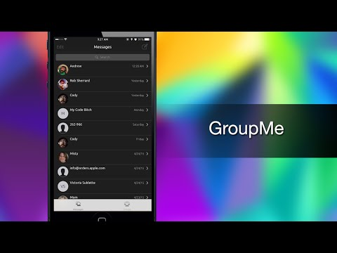 GroupMe keeps your Conversations Organized - iPhone Hacks