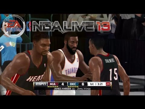 NBA Live 13 Fans Deserve Better | Early Build?