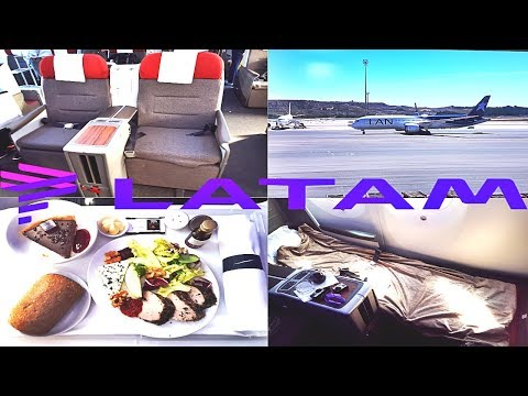 LATAM BUSINESS CLASS Madrid to Frankfurt Boeing 787-9