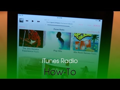 How To Use iTunes Radio In iOS 7