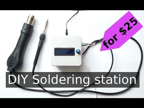 DIY (de)soldering station for $25