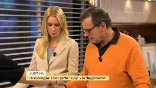 Fredrik Eriksson piffar upp vardagssalladen - Nyhetsmorgon (TV4)