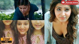 Top Boob Cleavage Oyiva Anaswara Rajan Samantha Boob Press