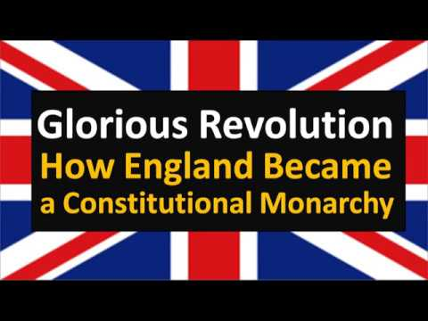 Glorious Revolution(Hindi) : How England became a Constitutional Monarchy?