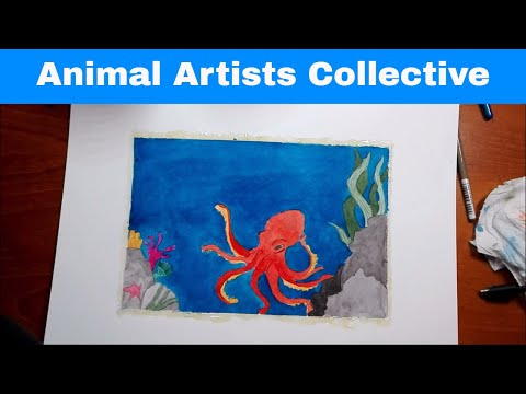 Unofficial Animal Artists Collective: Oceans & Coasts