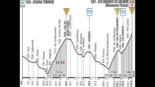 Giro d'Italia 2013 15a tappa Cesana Torinese-Col du Galibier (149 km)