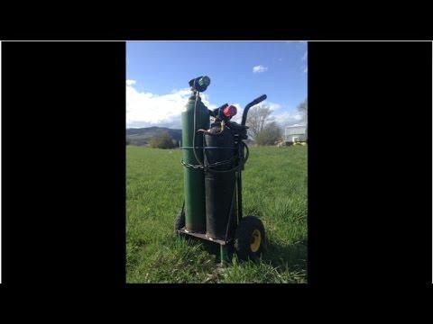 DIY Welding Torch Cart