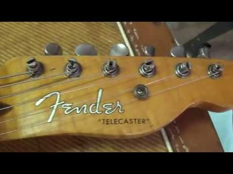 1953 Fender Telecaster:  An Up-Close Look at a Classic Vintage Guitar