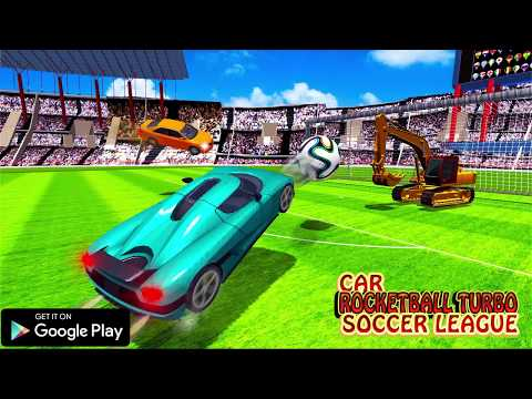 Car Rocketball Turbo Soccer League Android Game Play Trailer