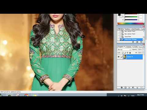 how to change dress colour in adobe photoshop 7.0 (Adobe Photoshop 7.0)