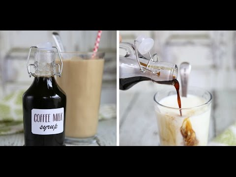 Coffee Syrup for Coffee Milk