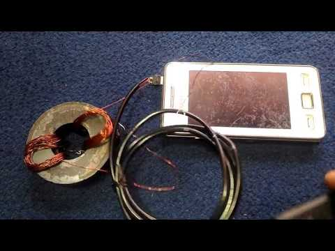 New Experiment at home 2018 Free Energy with 1 Magnet & Coil solar energy or freeenergygenerator