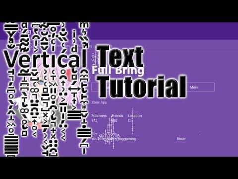X̝͕̪̪̅̄̅̌͛͐̾b͆͗̃̈́̌ͦo͊̾x̒͛̓ͤ͑̂ One | How To Get Vertical Text In Your Name