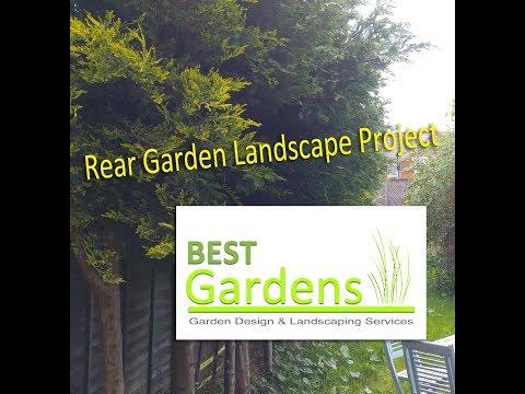 Rear Garden Landscape Project